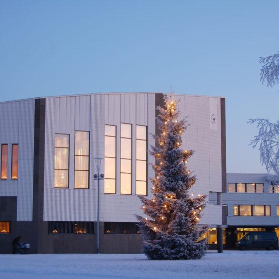 Rovaniemi Town Hall designed by Alvar Aalto