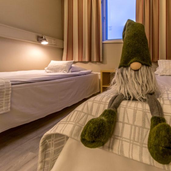 Santa's Hotel Rudolf in Rovaniemi, Lapland, Finland