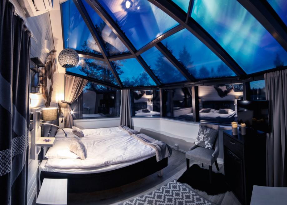 Santa´s glass igloos Santa´s Hotels Rovaniemi Lapland Finalnd