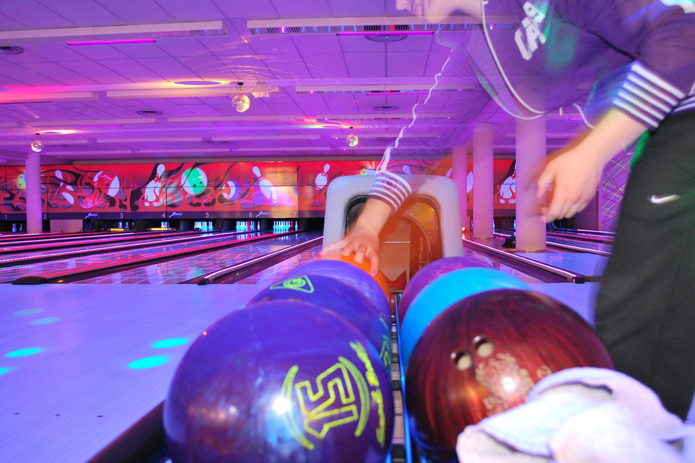 Santasport bowling in Rovaniemi