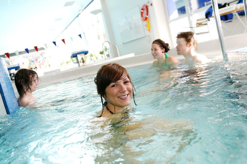 Spa & swimminf area, Santasport
