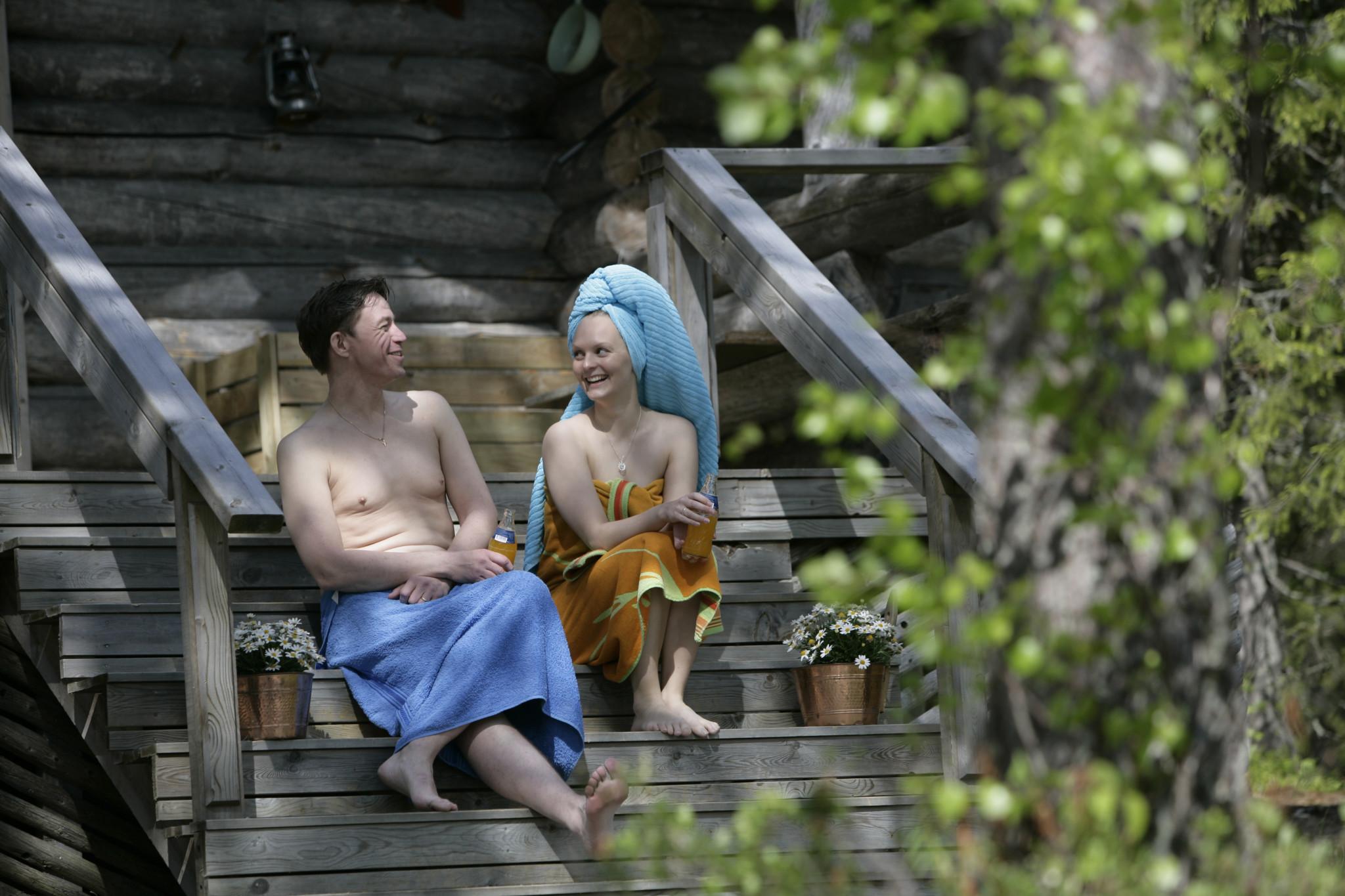 Sauna in Rovaniemi summer