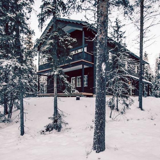 Villa Happy Fox in Rovaniemi Lapland Finland