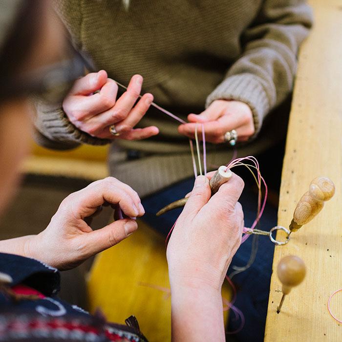 Arts and handicrafts workshop in Rovaniemi, Lapland, Finland