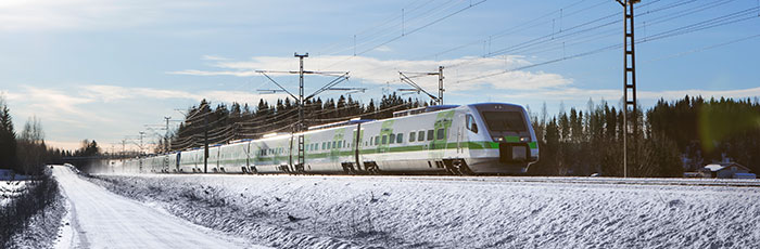 Getting here - travel to Rovaniemi, Lapland, Finland by train - photo by VR