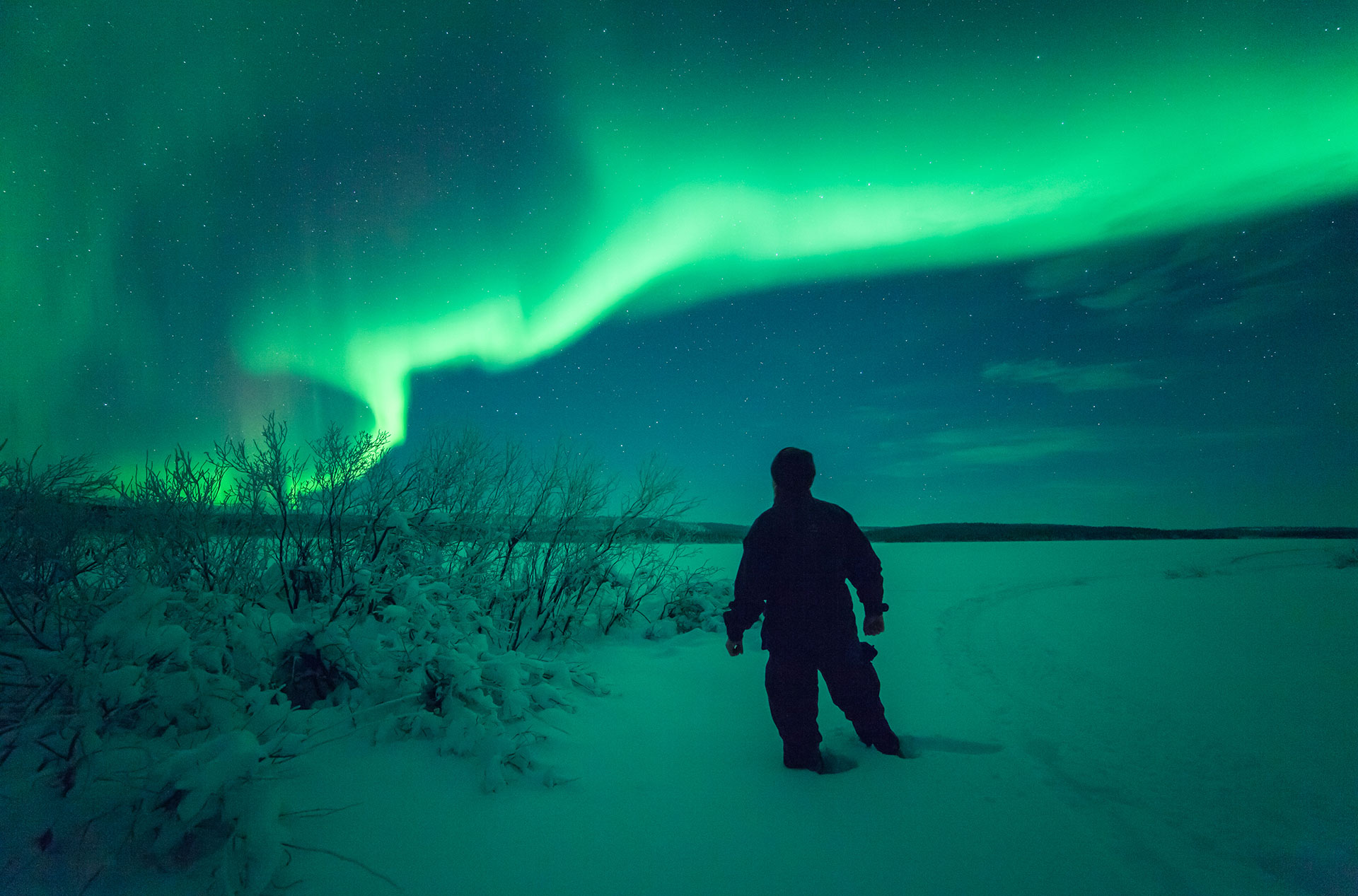 Also Known As Aurora Borealis, The Northern Lights Are Visible On Around  150 Nights A Year In Finnish Lapland. In Rovaniemi, The Spellbinding Astral  Show ...
