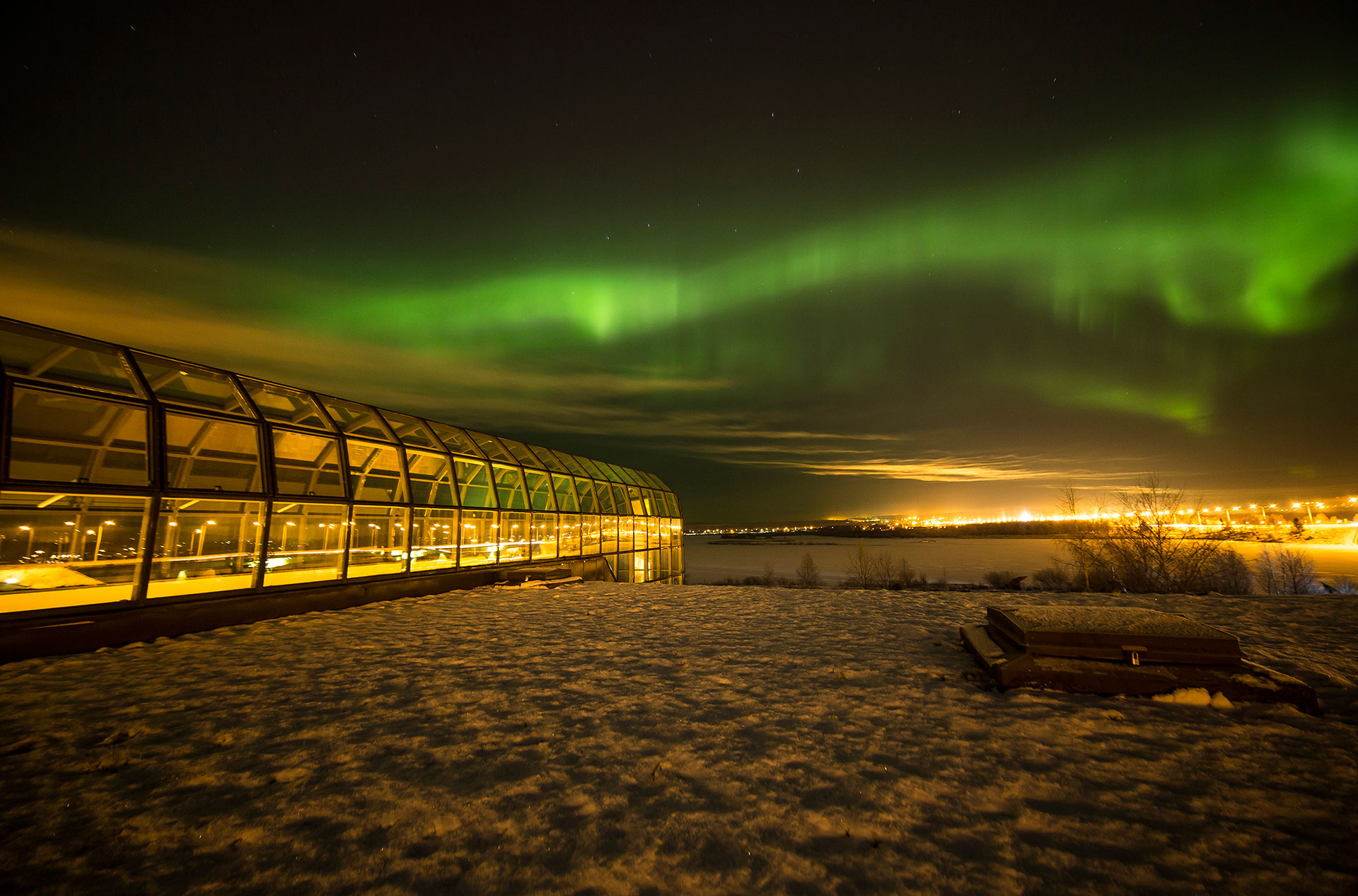 Experience the Northern Lights, Aurora Borealis, in