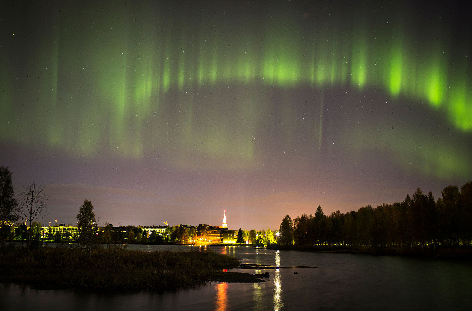 Wonderful There Are Quite A Few Good Places For Viewing The Auroras Near The City  Centre. The Arctic Garden Behind The Arktikum Museum Is A Popular Spot A  10 Minute ... Idea
