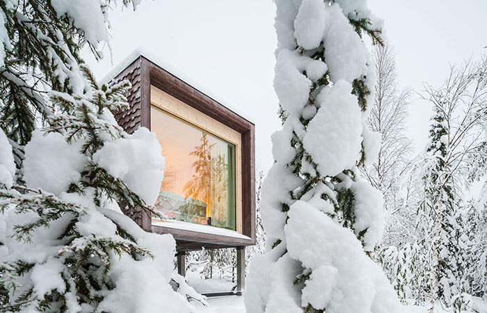 Arctic TreeHouse Hotel in Rovaniemi, Lapland, Finland'