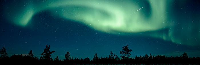 The Northern Lights, picture by Visit Finland