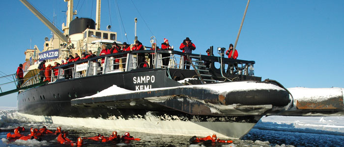 Lapland destinations - Kemi in Sea Lapland