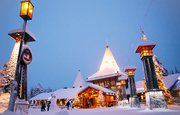Santa Claus Village in Rovaniemi, the Official Hometown of Santa Claus