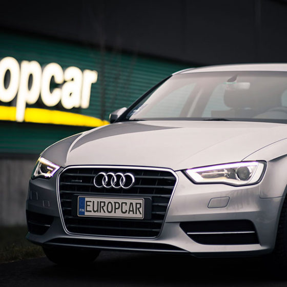 Europcar car rental services in Rovaniemi, the Official Hometown of Santa Claus